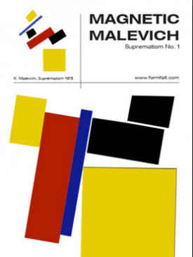 Magnetic Malevic Suprematism No 1